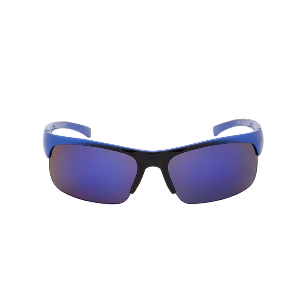 Boys Sport Wrap Sunglasses Maverick Blue