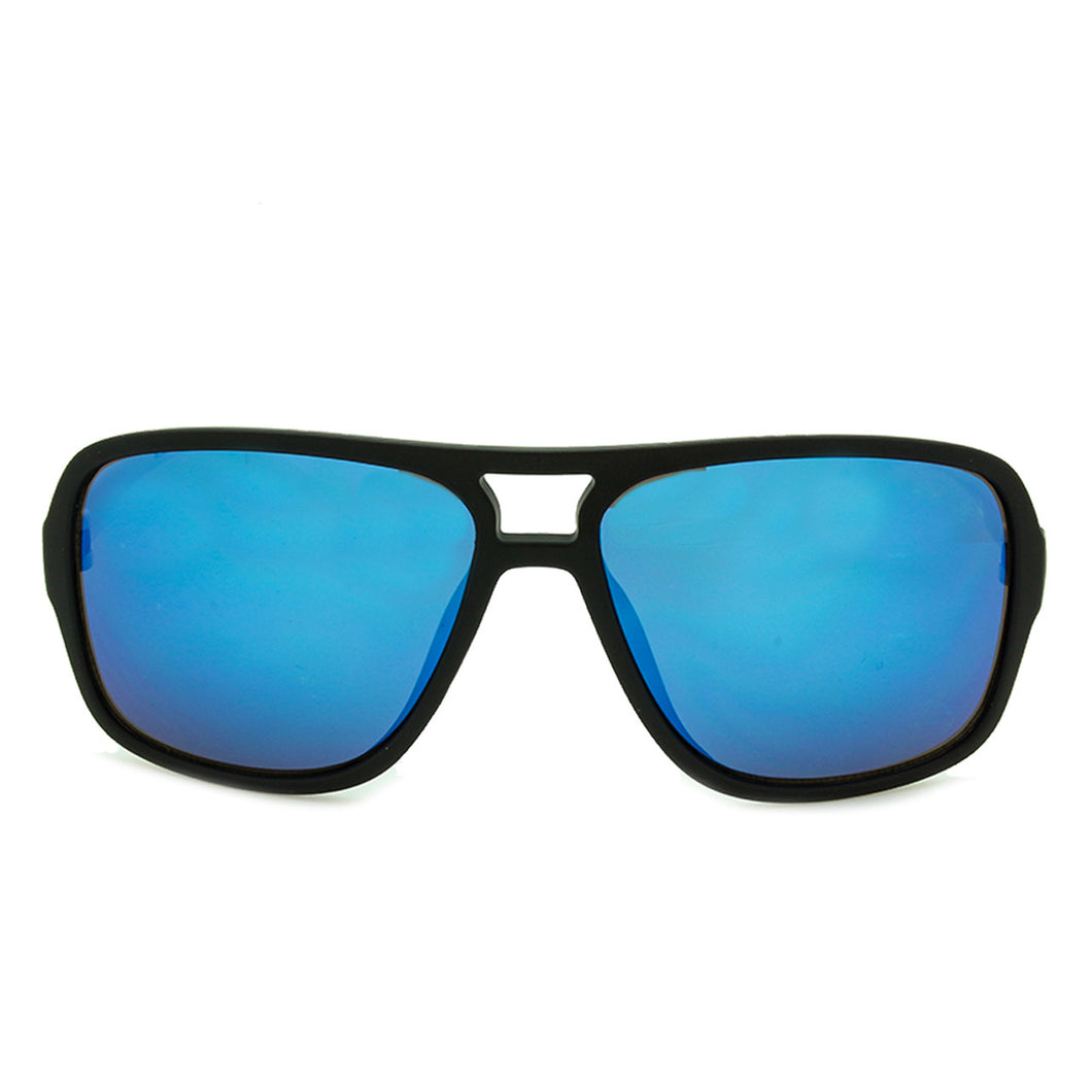Boys Aviator Mirrored Sunglasses Hollister Black/White