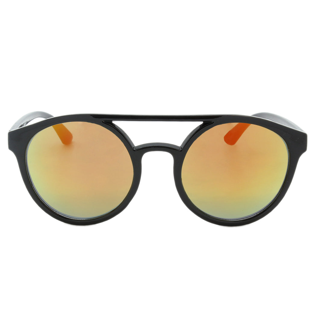 Unisex Round Revo Sunglasses Hampton Midnight