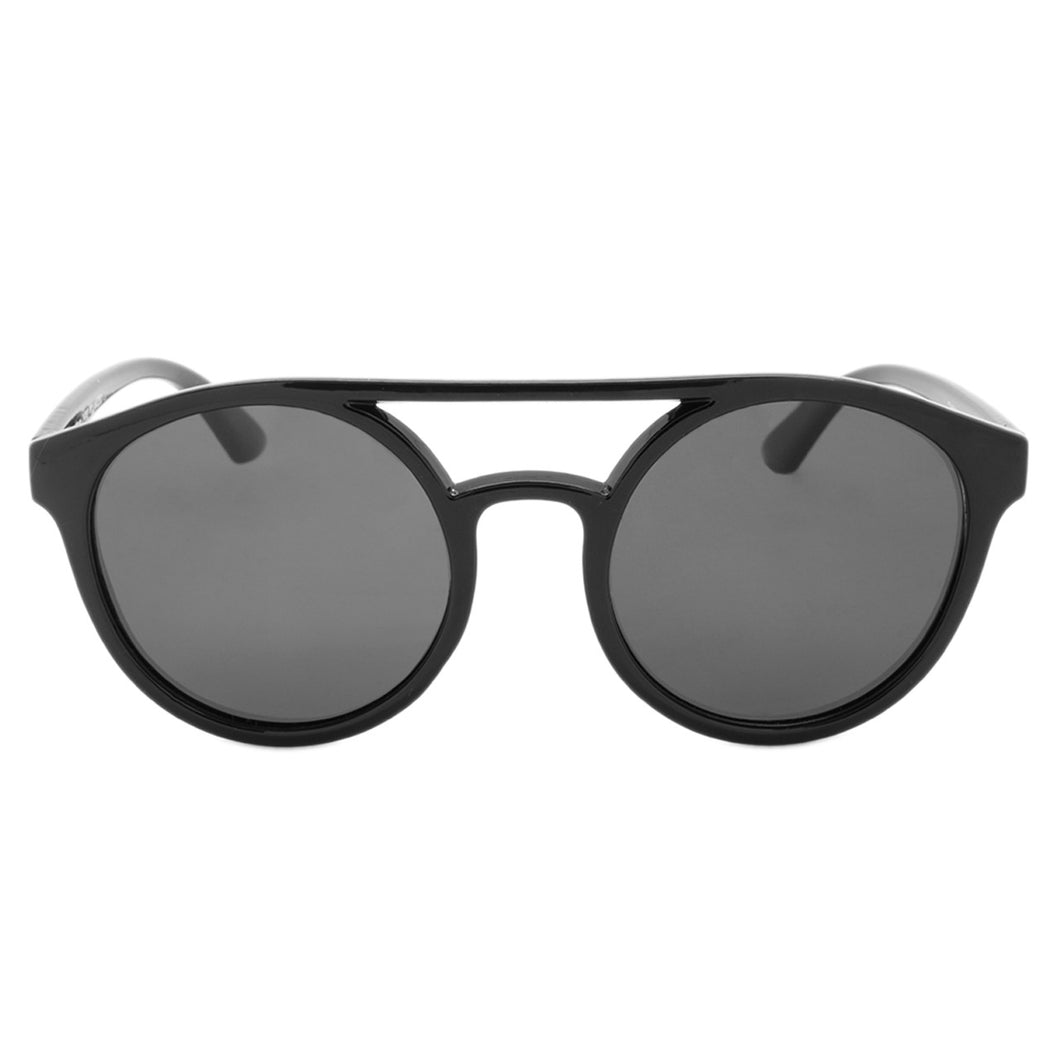 Unisex Round Sunglasses Hampton Midnight
