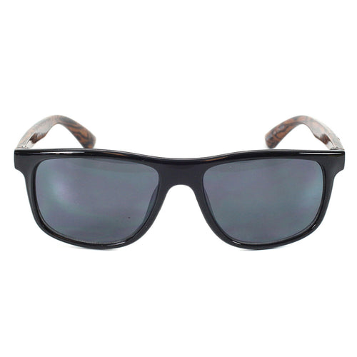 Boys Classic Sunglasses Waikiki Polished Black/Wood