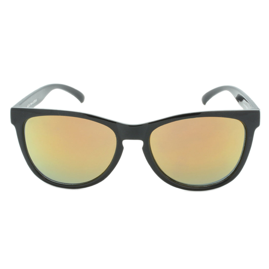 Unisex Classic Revo Sunglasses Cove Black/Stripe Accent