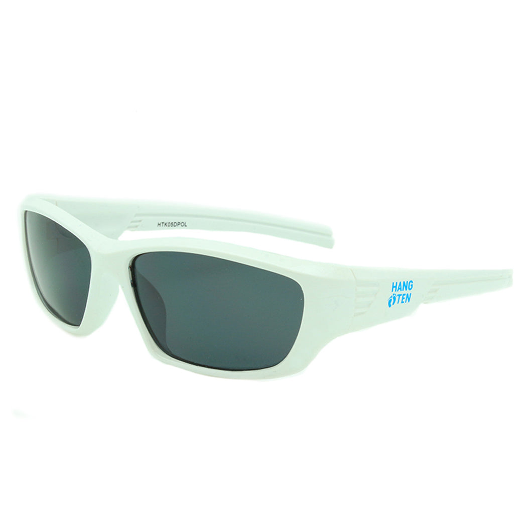 b2bd44e3a5c4 Boys Sport Polarized Sunglasses Daytona White – Hang Ten Kids Sunglasses