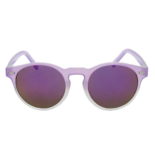 Girls Round Revo Sunglasses Lanai Violet