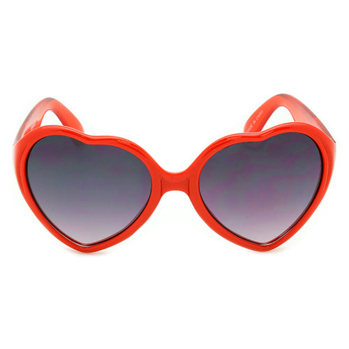 Girls Heart Shape Sunglasses Rio Cherry
