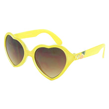 Girls Heart Shape Yellow Sunglasses - HTK04C