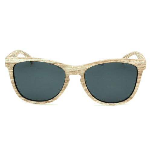 Boys & Girls Classic Polarized Sunglasses Venice Bamboo Sandalwood