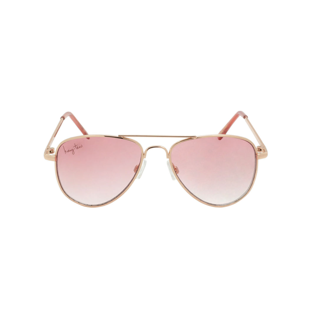Tween Girls Metal Aviator Sunglasses| Ace