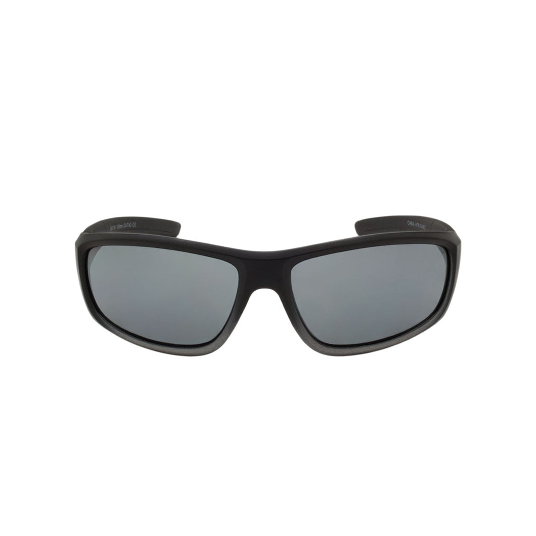 Boys Sport Wrap Sunglasses Bodyguard Utility Black