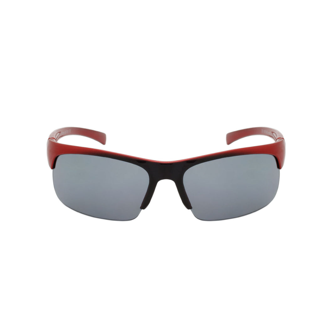 Boys Sport Wrap Sunglasses Maverick Red