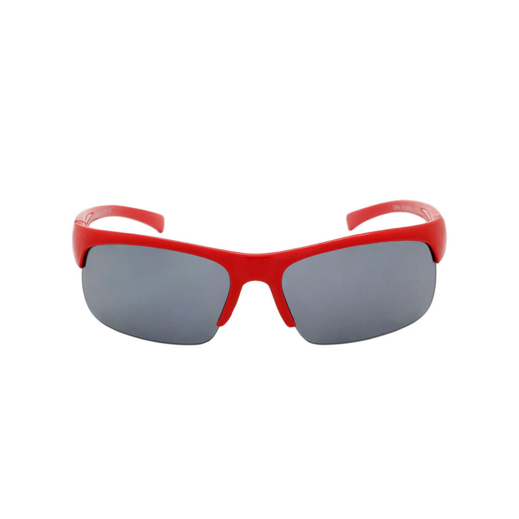 Boys Sport Wrap Sunglasses Maverick Cherry