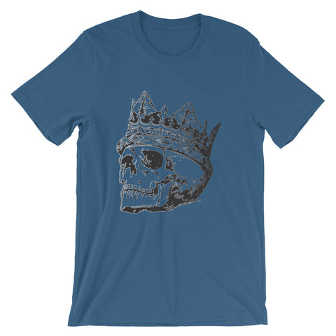 Skull with crown (short sleeve t-shirt)