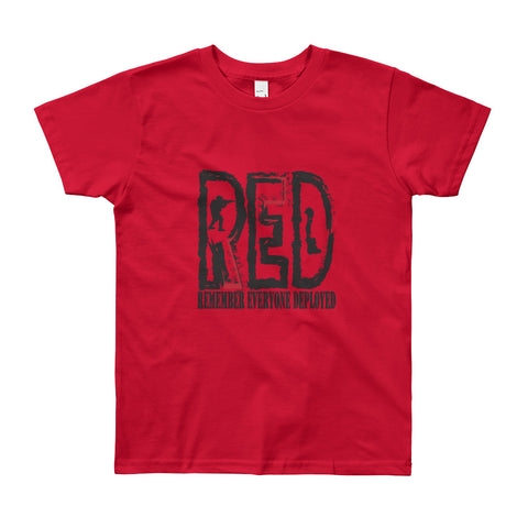 Remember Everyone Deployed (Youth Short Sleeve T-Shirt)