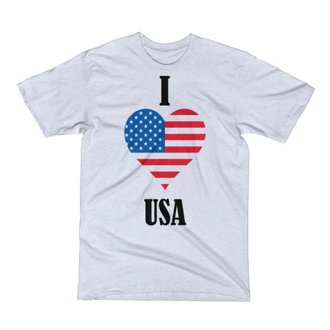 I love USA ( Short Sleeve T-Shirt)