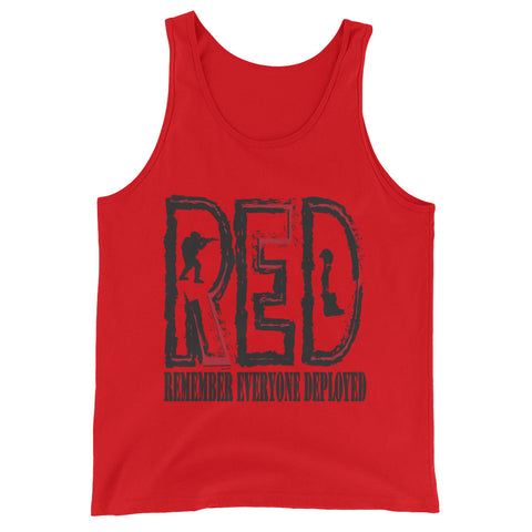 Remember Everyone Deployed (Unisex Tank Top)