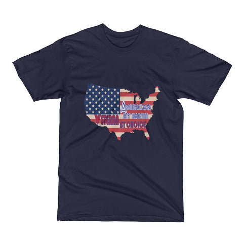 American by birth Veteran by choice (Short Sleeve T-Shirt)