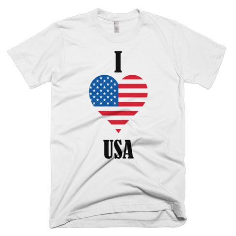 I heart the USA (T-shirt)