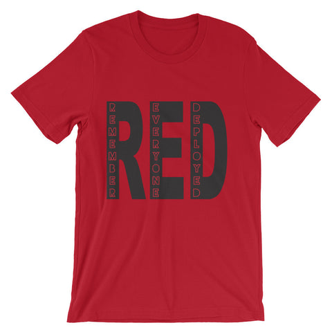 Remember Everyone Deployed (short sleeve t-shirt)
