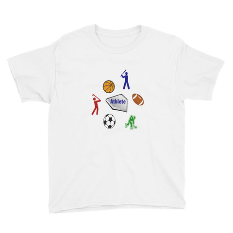 Athlete (Youth Short Sleeve T-Shirt)