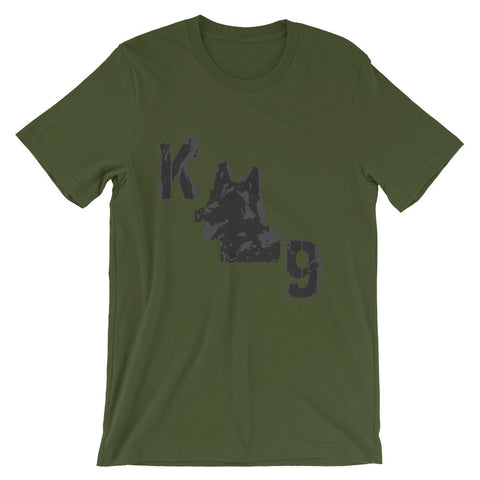 K9 (Unisex short sleeve t-shirt)