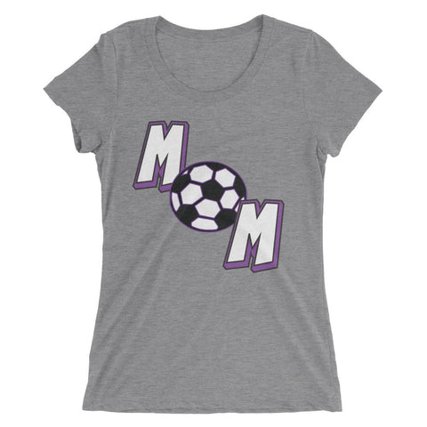 Soccer mom (Ladies' short sleeve t-shirt)