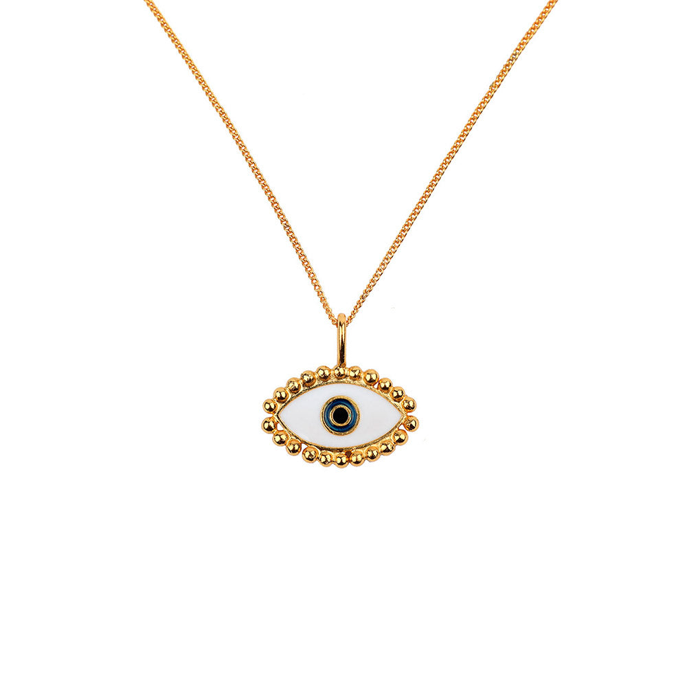 Third Eye Gold Necklace - Ethereal Shop