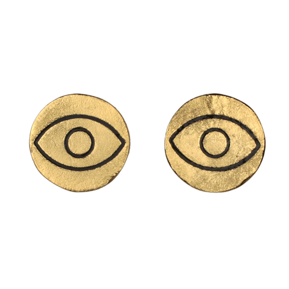 Alfil Gold Earrings - Ethereal Shop