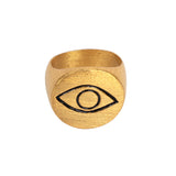 Alfil Gold Ring-AN249 - Ethereal Shop