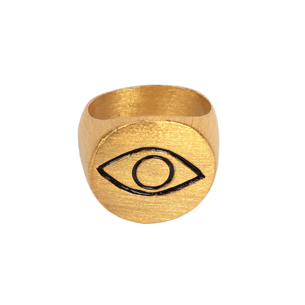 Alfil Gold Ring-AN249
