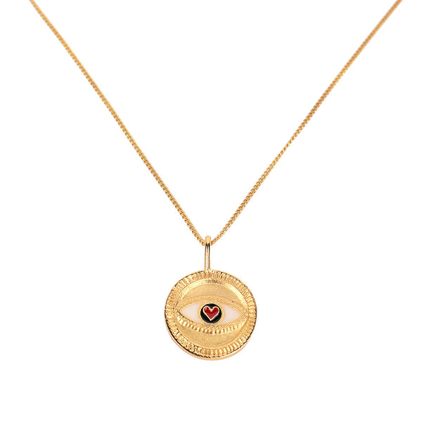 Pupil Gold Necklace