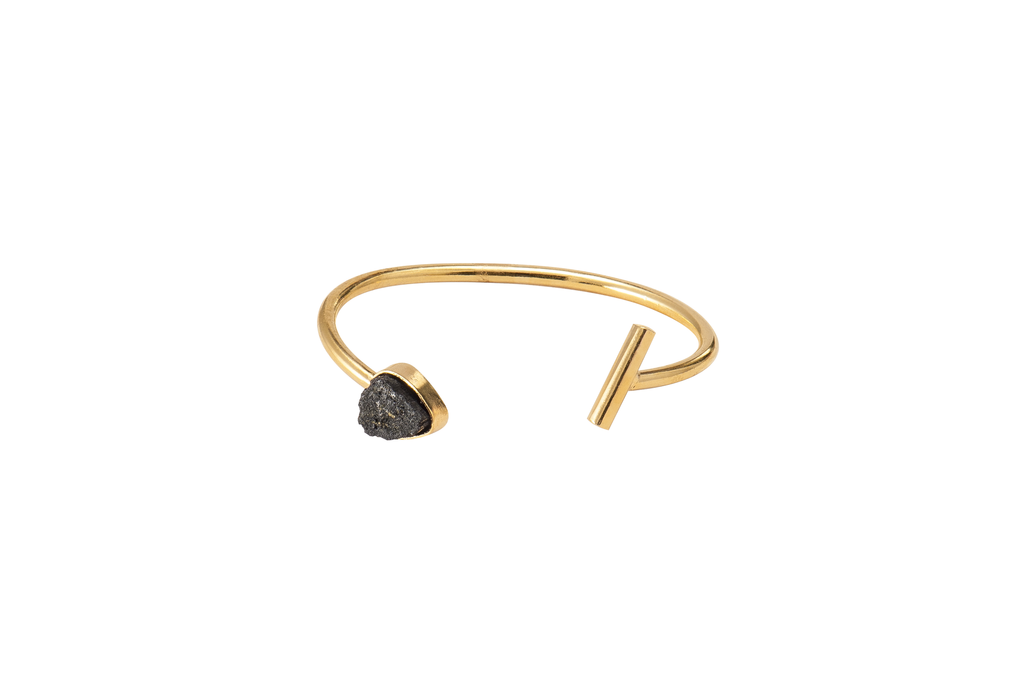 Gold & Tourmaline Bracelet - Ethereal Shop