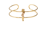 Gold Multisquare Choker