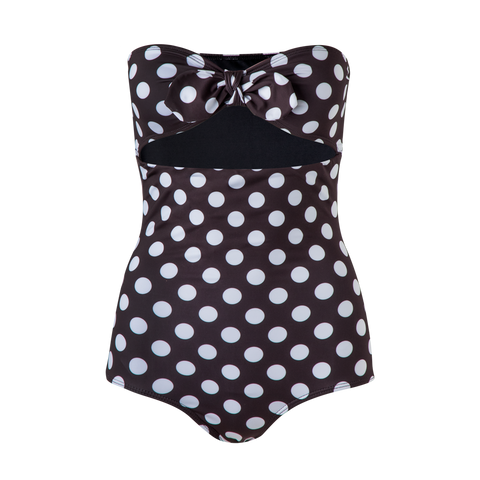 Fiji One Piece Black Dots
