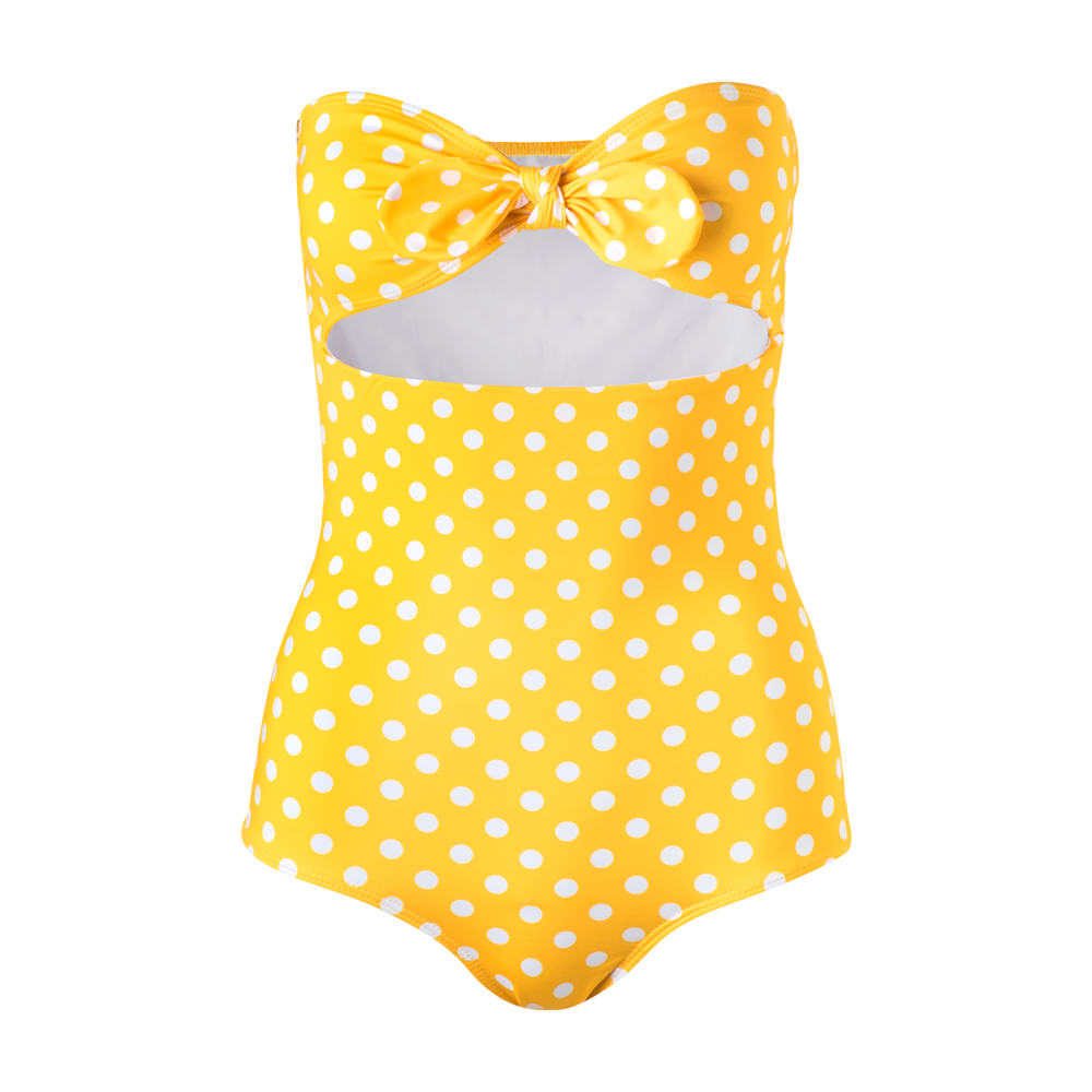 Fiji One Piece Yellow Dots - Ethereal Shop