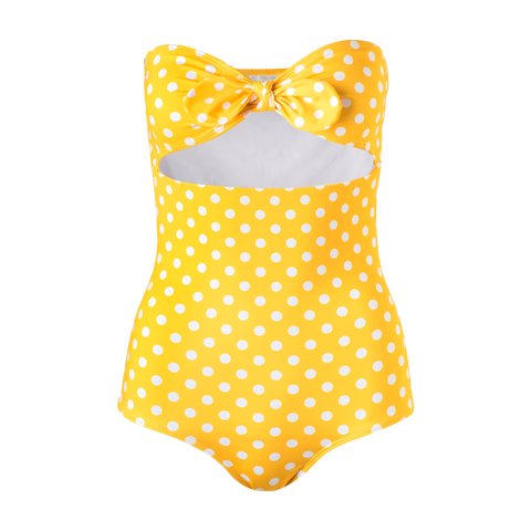 Fiji One Piece Yellow Dots