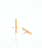 Gold Line Studs - Ethereal Shop
