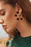 Daniela Salcedo x Mishky - Solei Earrings - Black/Gold