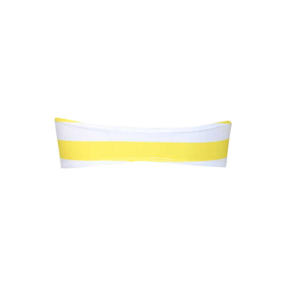 Malibu Top Yellow stripes - Ethereal Shop