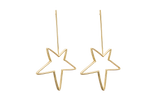Gold Star Earrings - Ethereal Shop