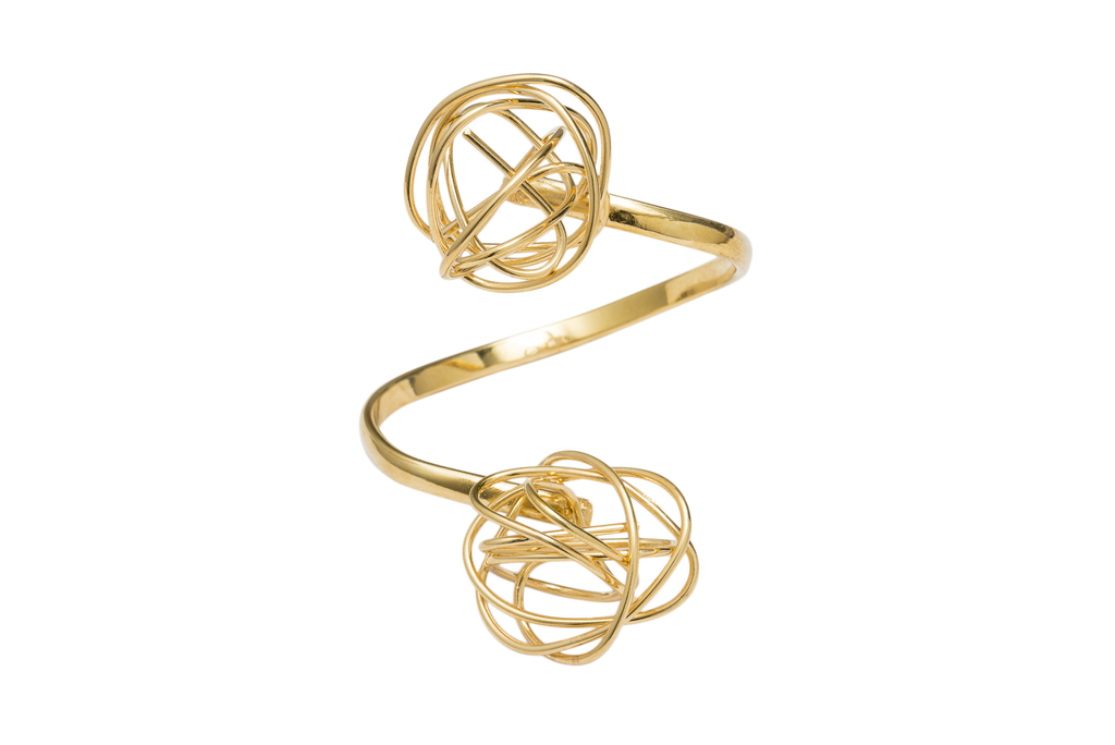 Gold Knots Bracelet - Ethereal Shop