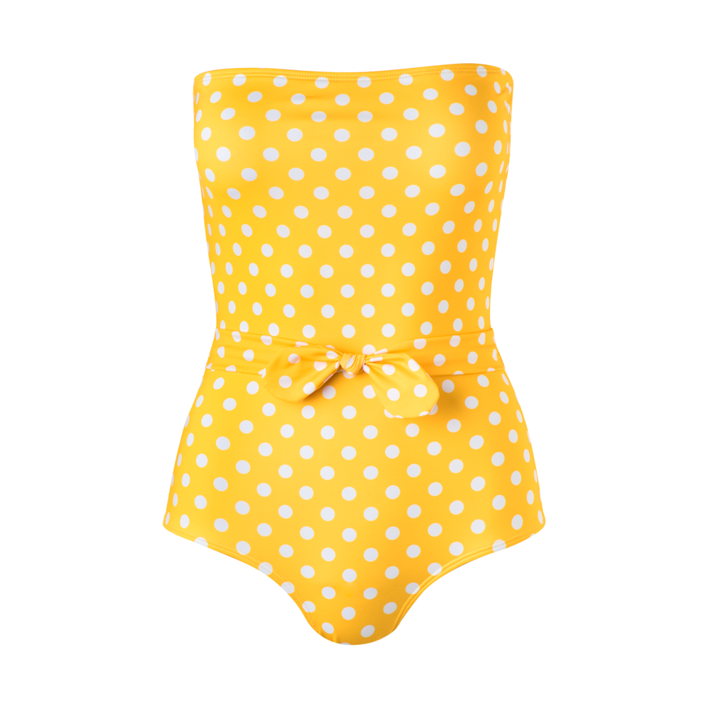 Porto One Piece Yellow Dots - Ethereal Shop