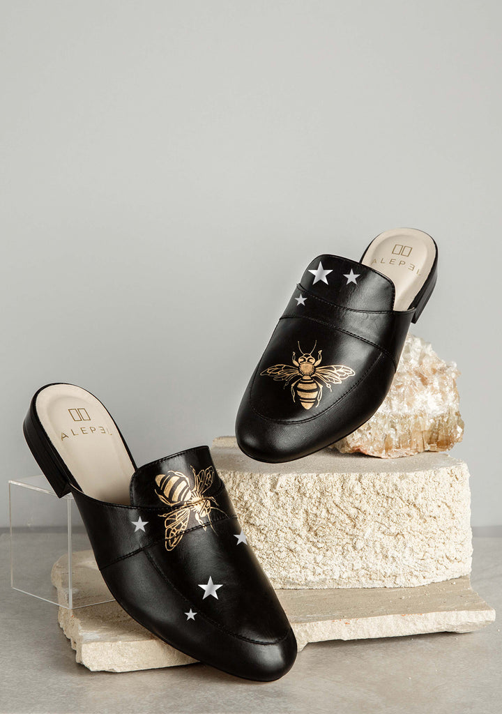 Queen Bees and stars Mules - Ethereal Shop