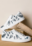 Blue Jungle Sneakers