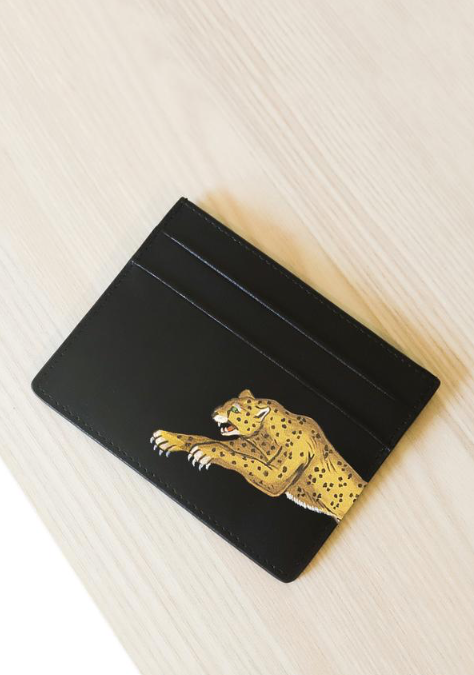 Leopard Card holder
