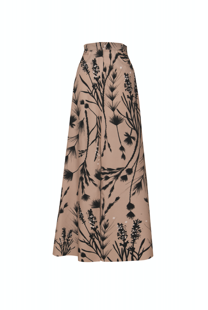 CARBONCILLO CAMEL Dita Maxi Skirt