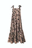 Carboncillo Camel Amaranto Dress