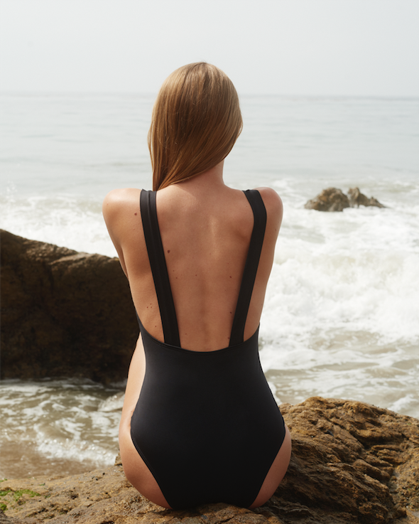 Miami One Piece Black - Ethereal Shop