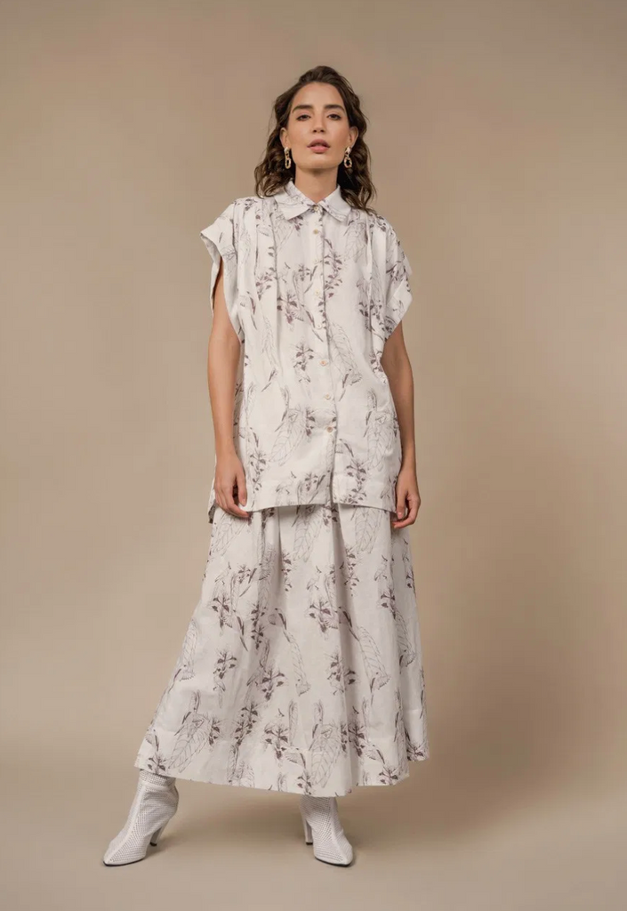 Cayo Arena Shirt Brown Birds - Ethereal Shop