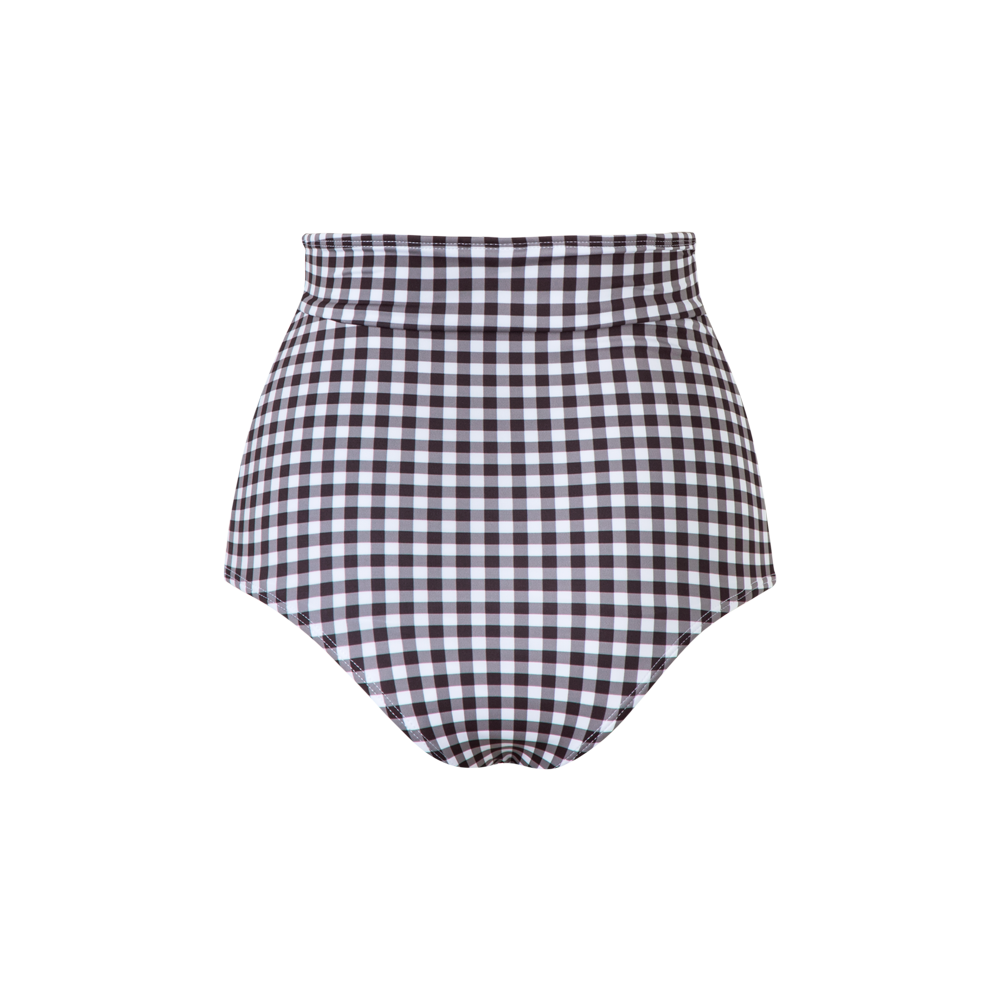 Tottori Bottom Black Gingham - Ethereal Shop