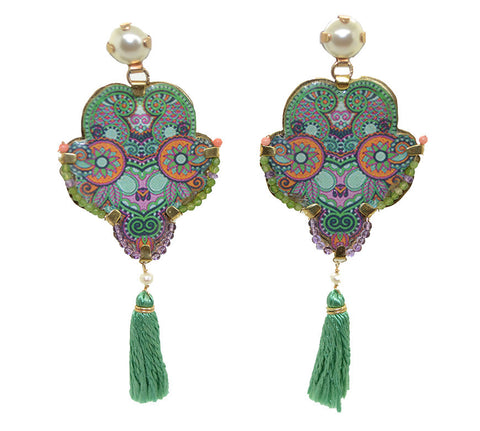 Farfalla Euthalia Earrings